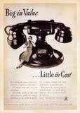 Κάρτα αμερικανικών εκλεκτής ποιότητας αφισών στοκ φωτογραφία με δικαίωμα ελεύθερης χρήσης