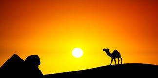 Κάρτα από την Αίγυπτο Στοκ εικόνα με δικαίωμα ελεύθερης χρήσης