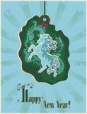 Κάρτα αλόγων Στοκ φωτογραφία με δικαίωμα ελεύθερης χρήσης