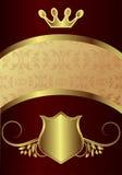 κάρτα βασιλική Στοκ Φωτογραφία