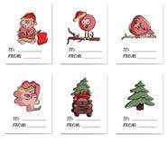 Κάρτα διακοπών με από τις λέξεις που γράφονται σε το διανυσματική απεικόνιση