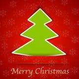 Κάρτα δώρων Καλών Χριστουγέννων Στοκ Φωτογραφίες