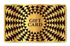 Κάρτα δώρων με την αφηρημένη σύσταση τριγώνων σχεδίων γεωμετρίας διανυσματική απεικόνιση