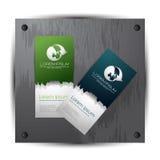 Κάρτα επίσκεψης/επαγγελματική κάρτα Στοκ Φωτογραφίες