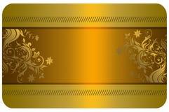 Κάρτα επιχειρήσεων ή δώρων Στοκ Εικόνες