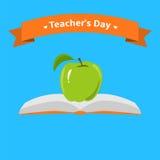 Κάρτα ημέρας δασκάλων απεικόνιση αποθεμάτων