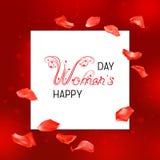 Κάρτα ημέρας γυναικών Στοκ εικόνες με δικαίωμα ελεύθερης χρήσης