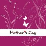 Κάρτα ημέρας μητέρας Στοκ Εικόνες