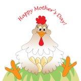 Κάρτα ημέρας μητέρων διανυσματική απεικόνιση