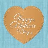 Κάρτα ημέρας της ευτυχούς μητέρας διανυσματική απεικόνιση