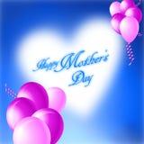 Κάρτα ημέρας των ευτυχών μητέρων Στοκ εικόνες με δικαίωμα ελεύθερης χρήσης