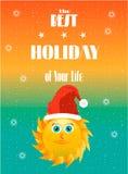 Κάρτα διακοπών Στοκ Εικόνες