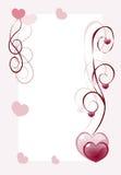 Κάρτα καρδιών απεικόνιση αποθεμάτων