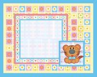 κάρτα μωρών χαριτωμένη διανυσματική απεικόνιση