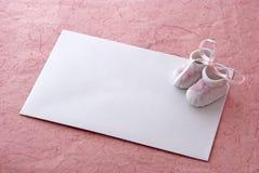 κάρτα μωρών Στοκ εικόνες με δικαίωμα ελεύθερης χρήσης