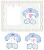 κάρτα μωρών διανυσματική απεικόνιση