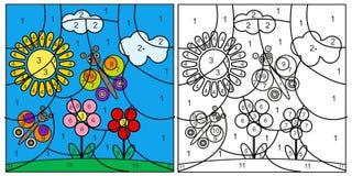 Κάρτα μωσαϊκών παιδιών Στοκ Εικόνες