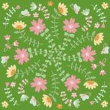 Κάρτα λουλουδιών άνοιξη Στοκ εικόνα με δικαίωμα ελεύθερης χρήσης