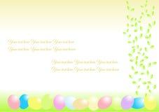 κάρτα Πάσχας διανυσματική απεικόνιση