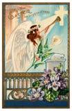 κάρτα Πάσχα ευτυχές Στοκ εικόνα με δικαίωμα ελεύθερης χρήσης