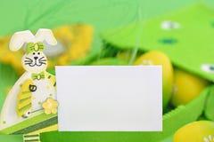 κάρτα Πάσχα πράσινο Στοκ Εικόνες