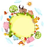 κάρτα Πάσχα διανυσματική απεικόνιση