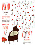 Κάρτα πιάνων Στοκ Φωτογραφία