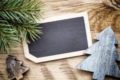 Κάρτα πινάκων Χριστουγέννων Στοκ Φωτογραφία