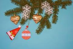 κάρτα που χαιρετά το νέο έτος Στοκ Φωτογραφία