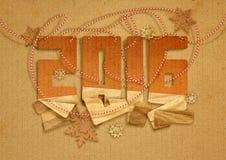 κάρτα που χαιρετά το νέο έτος Στοκ εικόνες με δικαίωμα ελεύθερης χρήσης