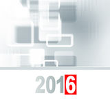 κάρτα που χαιρετά το νέο έτος Στοκ εικόνα με δικαίωμα ελεύθερης χρήσης