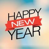 κάρτα που χαιρετά το νέο έτος Στοκ Εικόνες