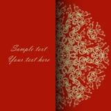 Κάρτα πρόσκλησης για το γάμο, την επέτειο, τα γενέθλια και άλλο Στοκ φωτογραφία με δικαίωμα ελεύθερης χρήσης