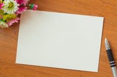 Κάρτα πρόσκλησης Στοκ φωτογραφία με δικαίωμα ελεύθερης χρήσης