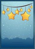 Κάρτα πρόσκλησης Στοκ εικόνα με δικαίωμα ελεύθερης χρήσης