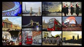 Κάρτα συλλογής montage του Λονδίνου