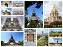 Κάρτα του Παρισιού Στοκ Φωτογραφίες
