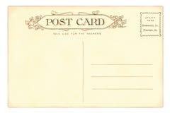 κάρτα του 1903 Στοκ Εικόνα