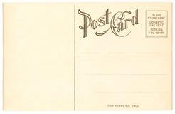 κάρτα του 1904 Στοκ Φωτογραφία