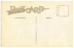 κάρτα του 1910 Στοκ Εικόνα