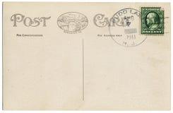 κάρτα του 1911 Στοκ Εικόνες