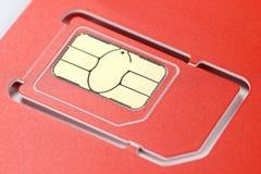 Κάρτα τσιπ Στοκ εικόνα με δικαίωμα ελεύθερης χρήσης