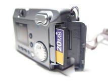 κάρτα φωτογραφικών μηχανών Στοκ Εικόνες