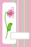 κάρτα χαιρετισμού καρτών απεικόνιση αποθεμάτων