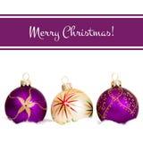 Κάρτα χαιρετισμών έννοιας Χαρούμενα Χριστούγεννας Στοκ φωτογραφίες με δικαίωμα ελεύθερης χρήσης
