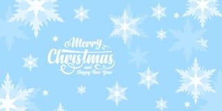 Κάρτα χαιρετισμών Χαρούμενα Χριστούγεννας διανυσματική απεικόνιση