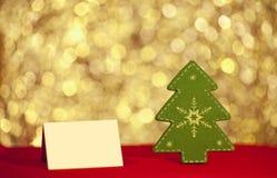 Κάρτα Χαρούμενα Χριστούγεννας Στοκ Εικόνες