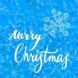 Κάρτα Χαρούμενα Χριστούγεννας διανυσματική απεικόνιση