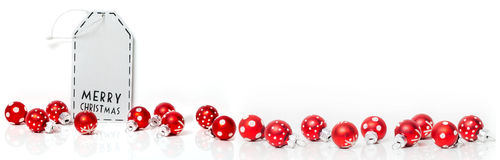 Κάρτα Χριστουγέννων, έμβλημα Στοκ Φωτογραφίες