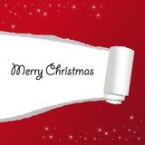 Κάρτα Χριστουγέννων με τις επιθυμίες απεικόνιση αποθεμάτων